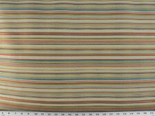 Drapery Upholstery Fabric Railroaded Jacquard Plaid/Check Stripe - Gold Multi