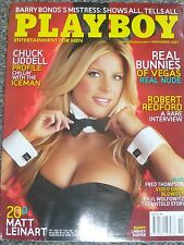 Playboy Magazine (Real Bunnies of Vegas) November 2007, Collectable