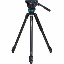 Benro A373FBS8 S8 Pro Video Head & A3573F Tripod. No Fees! EU Seller! NEW!