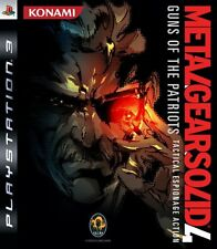 METAL GEAR SOLID 4 GUNS OF THE PATRIOTS PLAYSTATION 3 ps3 Usato Spedizione Rapida