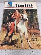 TINTIN  N°901 18e ANNEE  27 JANVIER 1966 REVUE MAGAZINE VINTAGE