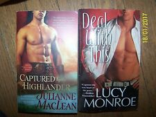 Lot 2 Romance Soft Books Lucy Monroe & Julianne MacLean in Great Condition