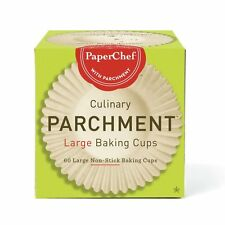 Paper Chef Culinary Parchment Large Cups 60 per pack 4 packs 240 cups total