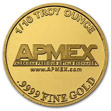 1/10 oz APMEX Gold Round