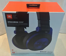 JBL Synchros E50BT Bluetooth On Around Ear Headphones Headset Wireless Blue