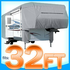 32' ft 5th Wheel RV Motorhome Trailer Cover Storage Covers Camper UV Protection