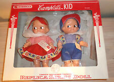 1997 Horsman Campbell Kids Ltd Numbered Edition Dolls IOB with Tags & COA NRFB