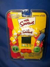Rare 1999 The Simpsons Tiger Electronic LCD Game, Mint in Package