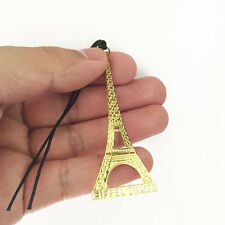 10pcs eiffel tower bookmark,metal cute bookmark,delicate bookmark,gold color