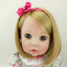 "22"" Handmade Reborn Toddler Baby Soft Viny Doll Girl Gloria Xmas Gift Dolls"