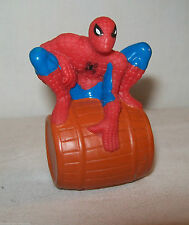 "Spider-Man figure 2001 Marvel Soft Rubber Toy 2 3/4"" tall"