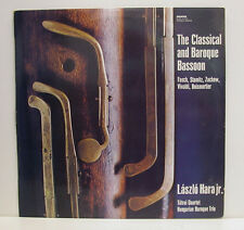 THE CLASSICAL AND BAROQUE BASSON LASZLO HARA TATRAI QUARTET  [e419]
