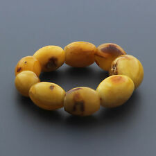 Natural Baltic Amber Bracelet for Adult 38.03gr. CB189