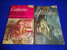 Catherine: One Love is Enough & Belle Catherine  by Juliette Benzoni (small pb )