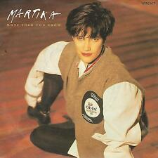 "MARTIKA ""MORE THAN YOU KNOW"" 7"" UK PRESS"