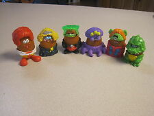 McDonalds 1996  McNugget (Nugget)  Buddies Halloween - Complete Set - Loose