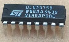 1 pc.  ULN2075B   ST    80V  1.5A  QUAD DARLINGTON SWITCHES  DIP16