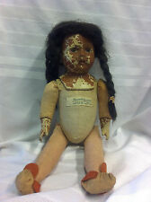 Antique Doll, Madame Hendren Character doll, May 9, 1916