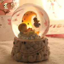 SWEET BABY With THE MOON CRYSTAL BALL MUSIC BOX ( Moon can Light up)