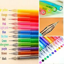 Diamond Writing Instruments School Supplies Colored Gel Pen Candy Ballpoint