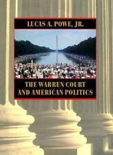 The Warren Court and American Politics Powe Jr., Lucas A. Hardcover