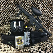 Tippmann US Army Alpha Black Elite Tactical FOXTROT Paintball Gun Package Kit