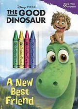 A New Best Friend (Disney/Pixar The Good Dinosaur) (Color Plus Chunky Crayons)