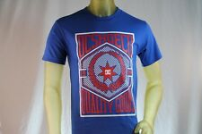 DC SHOES MEN'S GRAPHIC BLUE T-SHIRT W/ DC SHOES LOGO size X-Large / XL