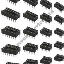 10x 14 Pin RoHS PCB IC Socket DIL/DIP 14 0.3""