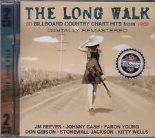 THE LONG WALK - 50 BILLBOARD COUNTRY CHART HITS FROM 1960 on 2 CD's