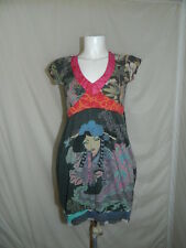 DESIGUAL  DRESS WOMAN VESTITO DONNA VEST CASUAL  TG.M   S3387
