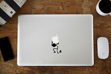 "Carrying Stickman Decal Sticker for Apple MacBook Air/Pro Laptop 11"" 12"" 13"" 15"""