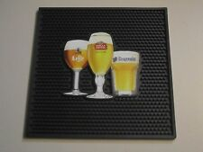Stella Artois Hoegaarden Leffe Best of Belgium Beer Rubber Bar Spill Mat Matt