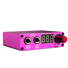 Tattoo Machines - Tattoo Power Supplies -Pink Digital Power Supply - NYT