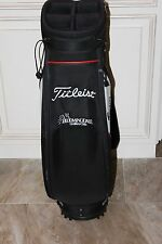"Titleist Cart Bag (Red, Black & White) ""Bloomingdale Golfers Club""  M119"