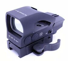 Tactical 4 Reticle Red Green Dot Digital Holographic Reflex Sight Picatinny
