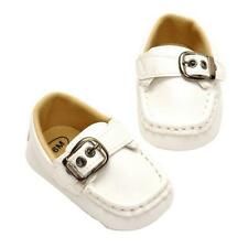 Baby Boys Soft Faux Leather Soft Sole Crib Shoes First Shoes Newborn to 18 Month