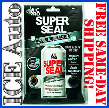 MRL-3 A/C PRO SUPER SEAL | A/C Leak Sealer Kit with CHARGING HOSE