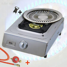 Stainless steel Gas stove 1 burner 5 KW WOK Camping stove Flame failure device+
