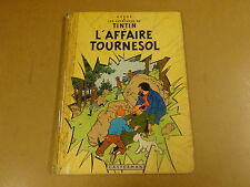 BD RE 1963 HC / TINTIN - L'AFFAIRE TOURNESOL