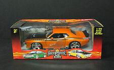 1970 Plymouth Barracuda -1 BADD RIDE Professional Collectibles 1:24 Scale Orange
