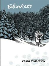 Blankets. Craig Thompson. Beautiful Graphic Novel. New. German Language Edition