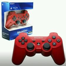 Brand New SEALED Sony Playstation 3 PS3 Dualshock 3 Wireless Controller -  RED