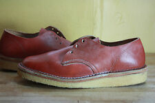 Vintage Lewis & Clark shoes 7 desert boots new 70's brown handmade