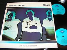 TANGERINE DREAM Poland - The Warsaw Concert / UK DLP 1984 ZOMBA JIVE HIP 22