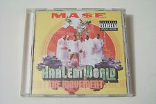 MASE - HARLEM WORLD / THE MOVEMENT CD 1999 (Jermaine Dupri Nas Drag-On)