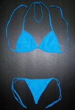 DARK Turquoise Blue G-STRING BIKINI Swimming Costume Beach Wear Swimsuit Holiday