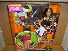 I (instant) Message Girls Barbie Doll #C6785 NRFB african american w/ cell phone
