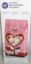 "Wilton  Valentine's Day Treat Bags    6 Count  4"" x 2"" x 7.5"""