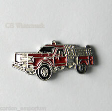 FIRE ENGINE FIREFIGHTER UTILITY EMERGENCY TRUCK LAPEL PIN BADGE 3/4 INCH